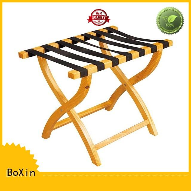wood Luggage stand free sample for hotel room