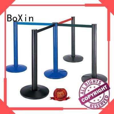 high-quality rope barrier stands tube get quote Queue Pole Crowd Control Barrier