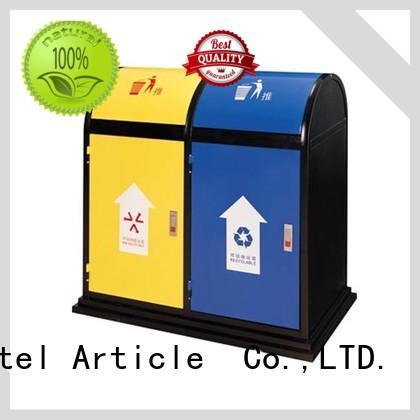 BoXin environmental outdoor garbage bins customization Hotel lobby