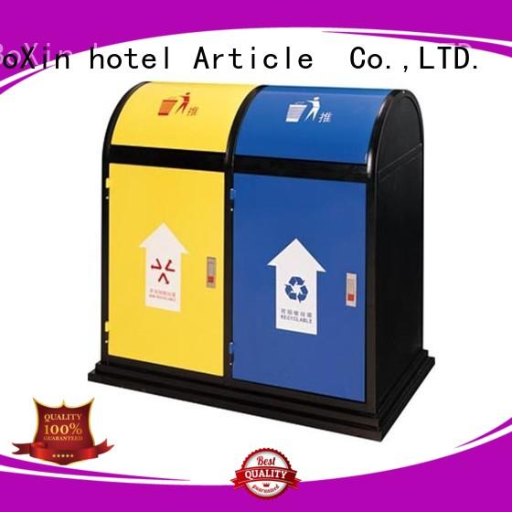 commercial trash bin from outdoor BoXin Brand
