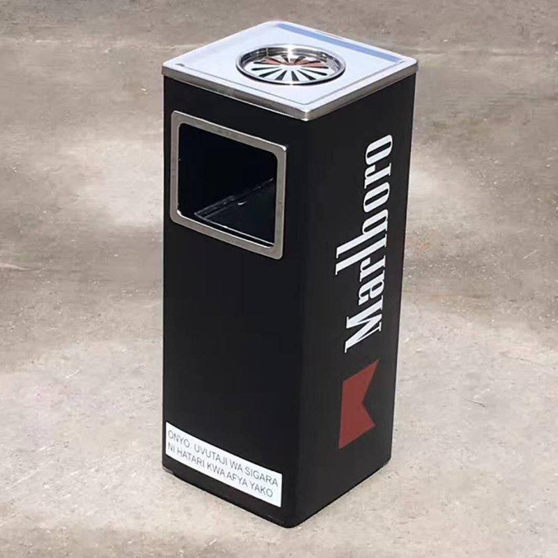 Marlboro trash can custom