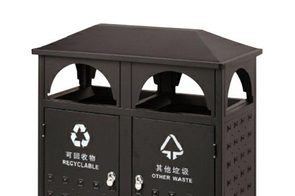 BoXin standard best outdoor garbage can customization for outdoor