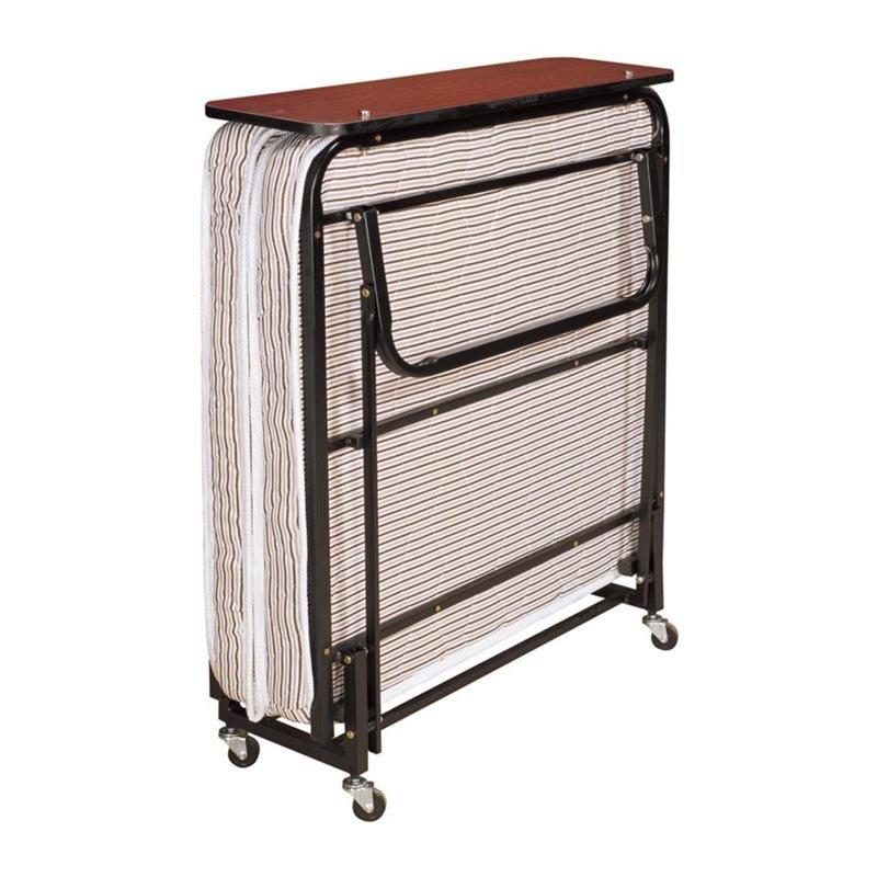 Metal Single Guest Folding Mattress Bed