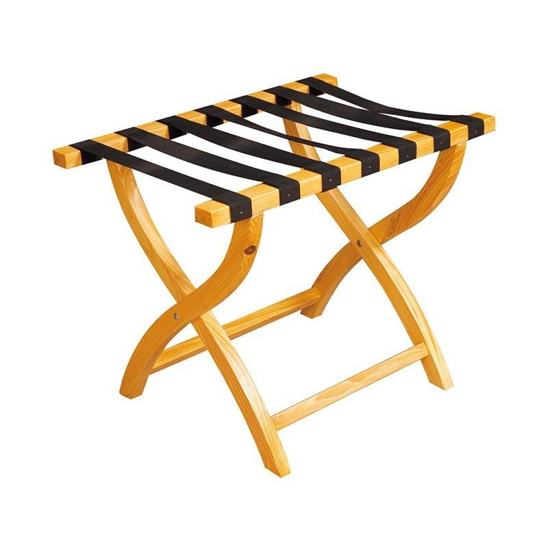 Wooden luggage rack for hotel folding luggage rack