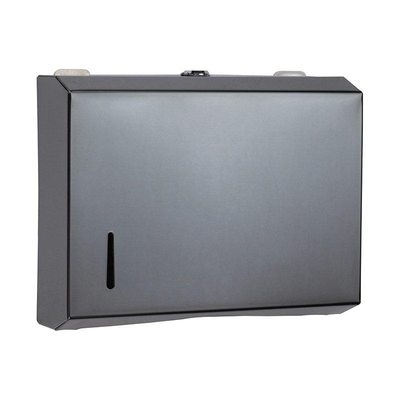 Lockable wall mount tissue box automatic paper towel dispenser