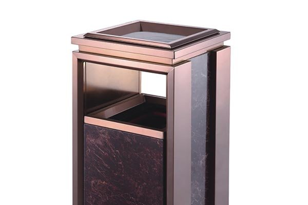BoXin-Hotel Waste Bins Manufacture | Single Top Open Top Garbage Can-3