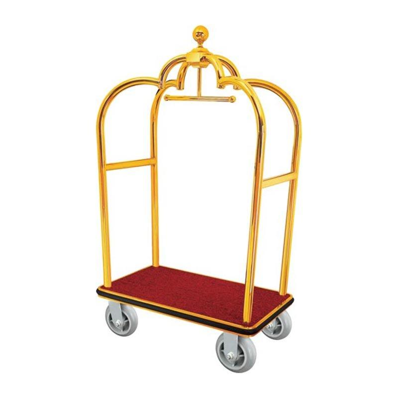 Stainless Steel Luggage Trolley /Luggage Cart For Hotel /Hotel Luggage Carts