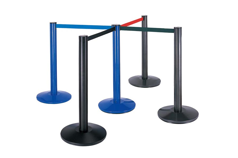 BoXin-Best Aluminum Tube Railing Stand Queue Stand Retractable Barrier