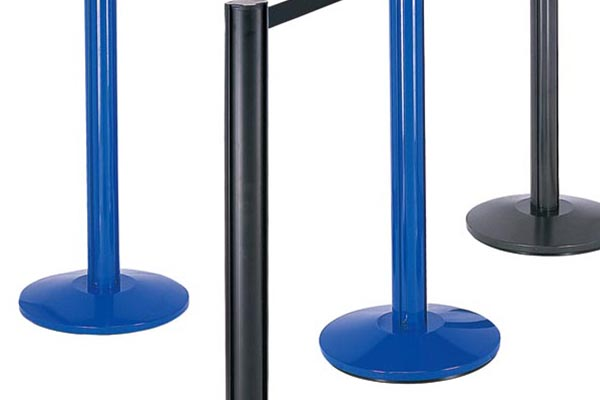 BoXin-Best Aluminum Tube Railing Stand Queue Stand Retractable Barrier-2