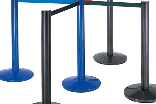 BoXin-Best Aluminum Tube Railing Stand Queue Stand Retractable Barrier-3