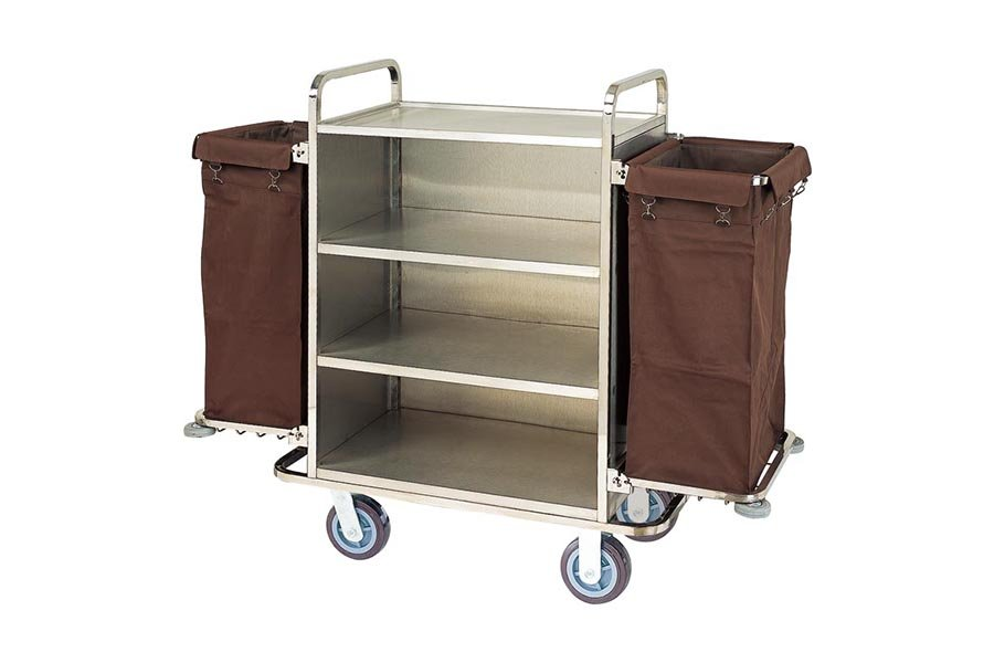 BoXin-Best Hotel Equipment Room Service Trolley Hotel Housekeeping Cart