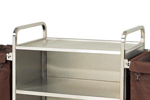 BoXin equipment room service trolley for wholesale towel cart