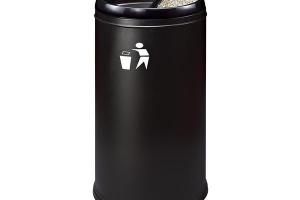 BoXin ground trash can with ashtray supplier