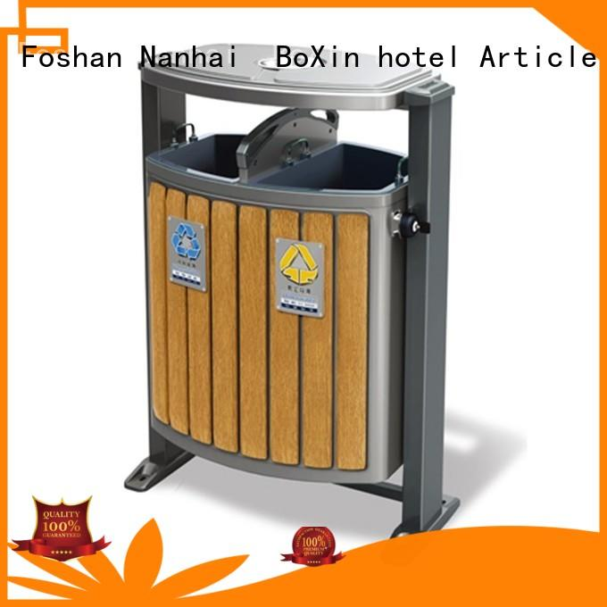 BoXin storage commercial outdoor garbage cans OEM Hotel lobby