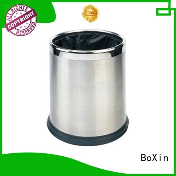 BoXin quality bathroom trash can with lid suppliers for hotel