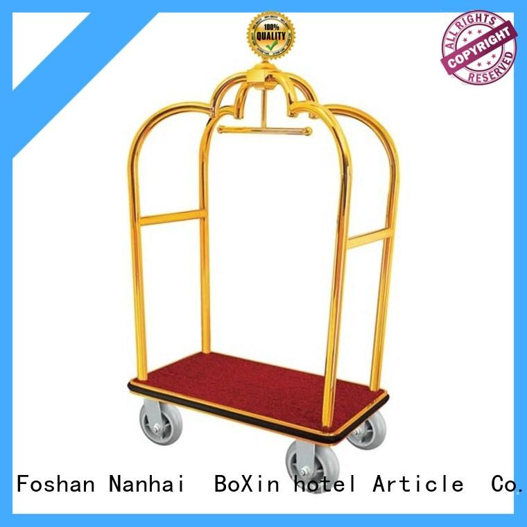 BoXin room hotel luggage carts for sale for wholesale for baggage carry