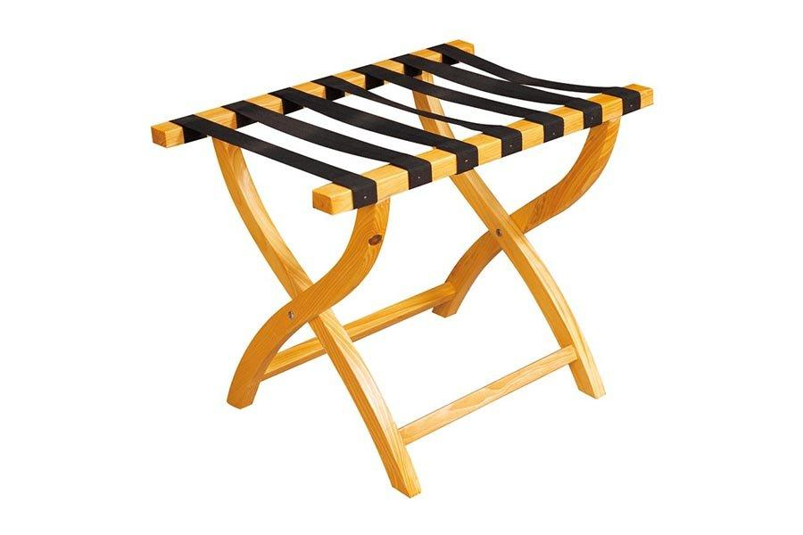 BoXin-Wooden Luggage Rack For Hotel Folding Luggage Rack | Luggage Carrier Factory