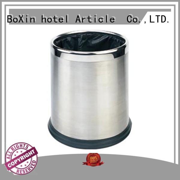 decorative hotel room trash can size BoXin Brand