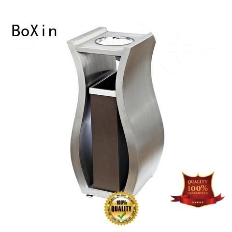 BoXin indoor hotel garbage cans for wholesale