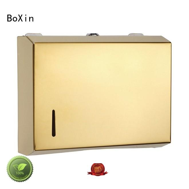 BoXin wall stainless steel paper towel dispenser buy now for public restroom
