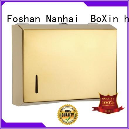 BoXin portable bathroom paper towel dispenser for wholesale for wall tissues