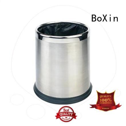 Quality BoXin Brand bedroom garbage can small chinese