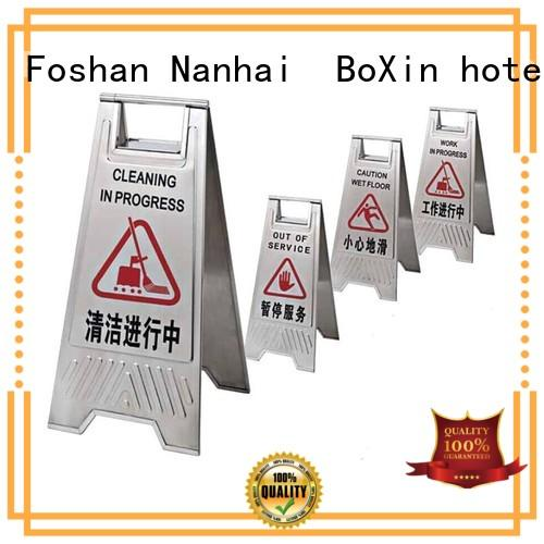 Breathable lobby sign stands reception OEM for hotel sign