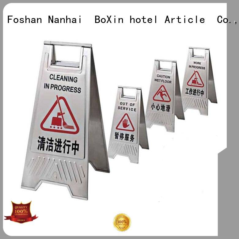BoXin indoor sign stands manufacturers for public sign