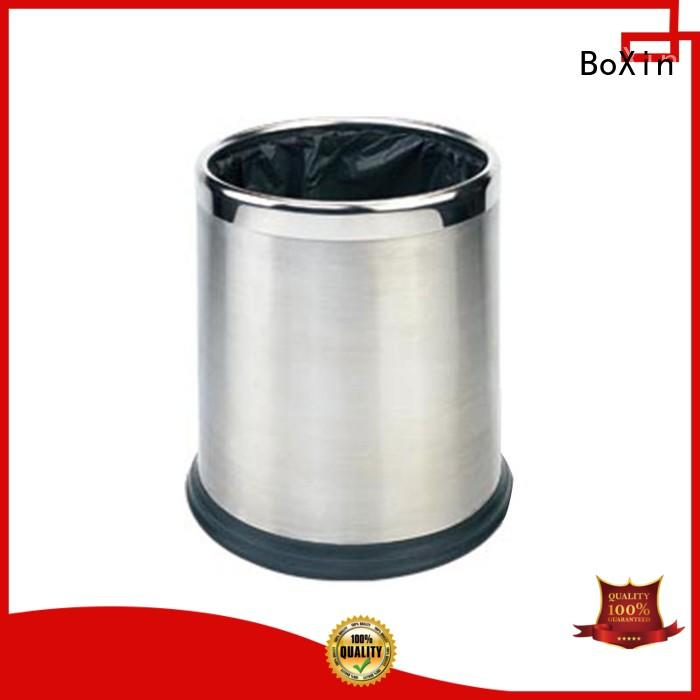 BoXin funky commercial bathroom trash cans customization