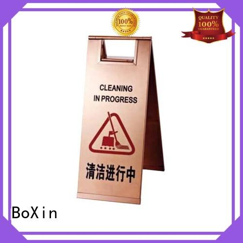 BoXin lobby sign stands suppliers for hotel