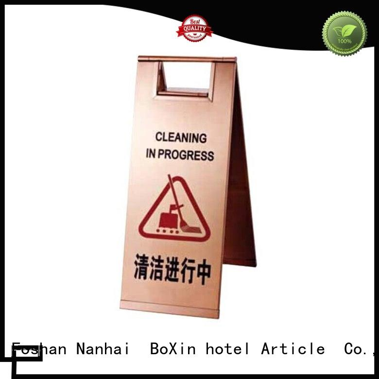 BoXin warning warning sign stand for wholesale for building sign