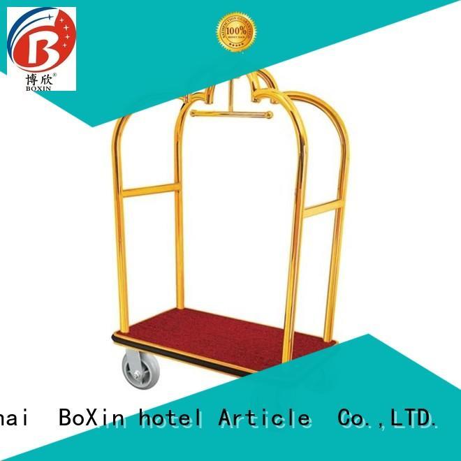 BoXin hotel style luggage cart company