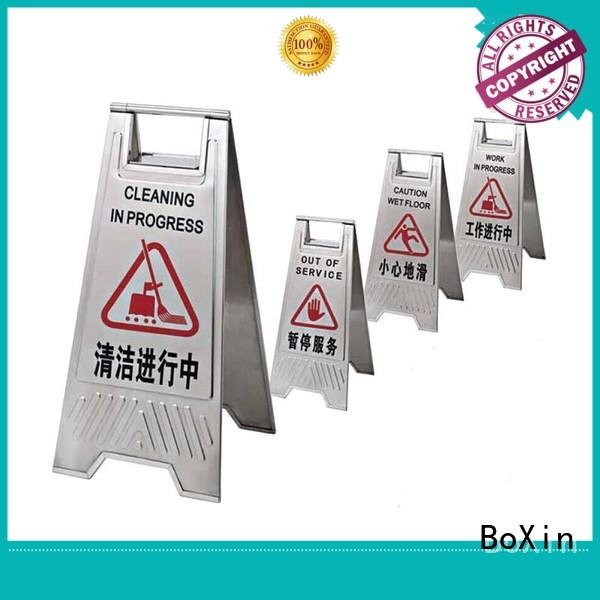 BoXin best foldable sign stand suppliers for reception
