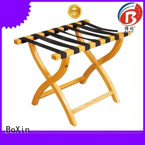 BoXin luggage racks for guest rooms supply for clothes