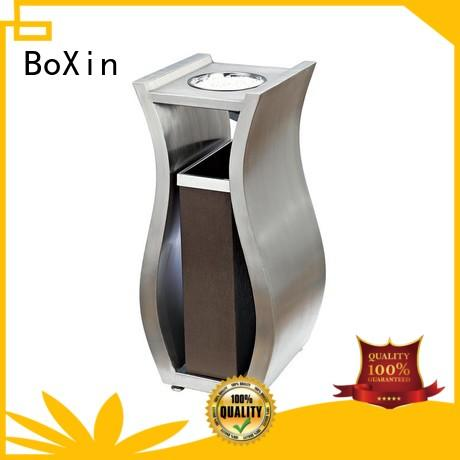 BoXin paint hotel garbage cans customization