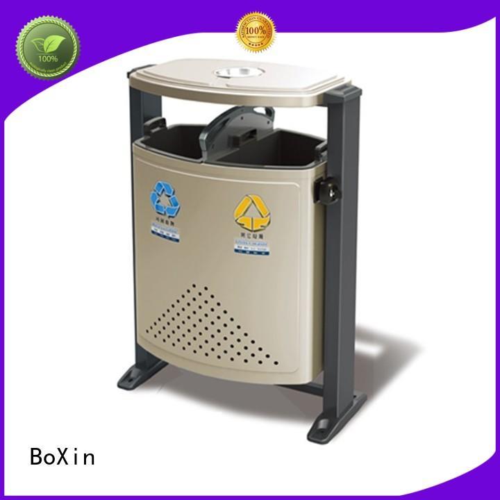 can Custom direct outdoor trash bin ash BoXin