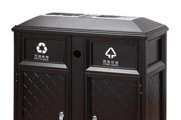 Breathable commercial outdoor garbage cans from for wholesale Hotel lobby-2