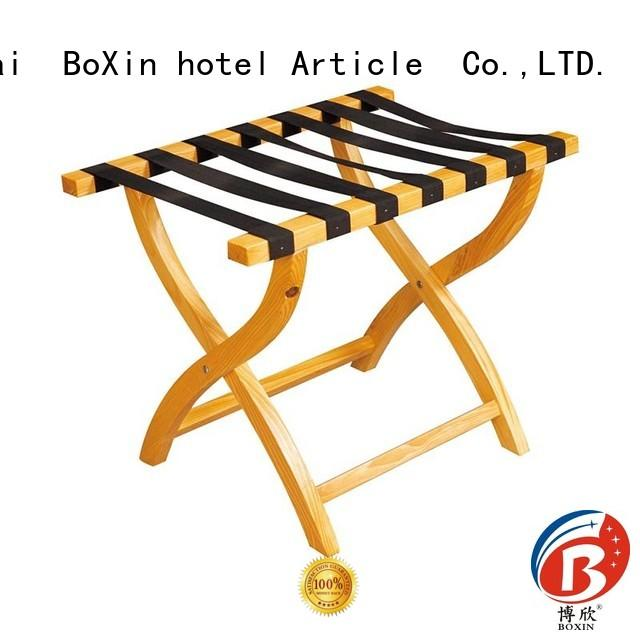 BoXin Brand wooden folding dubai rack luggage rack