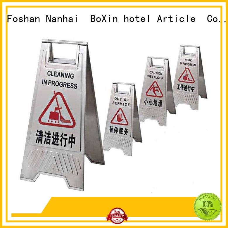 lobby bevel stand BoXin Brand hotel sign stand