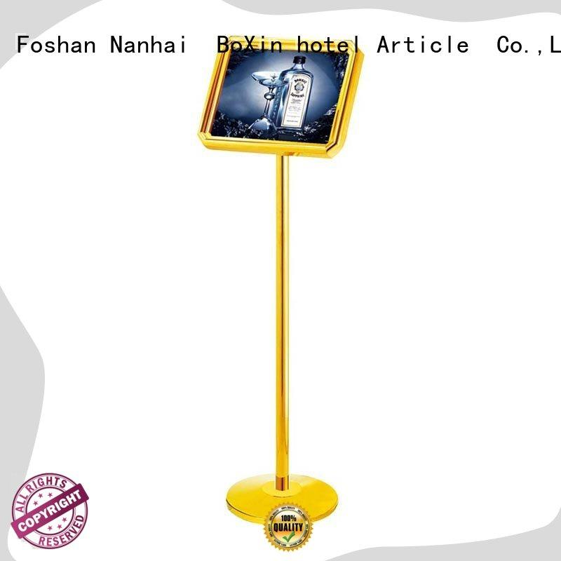 BoXin durable hotel sign stand supplier for building sign
