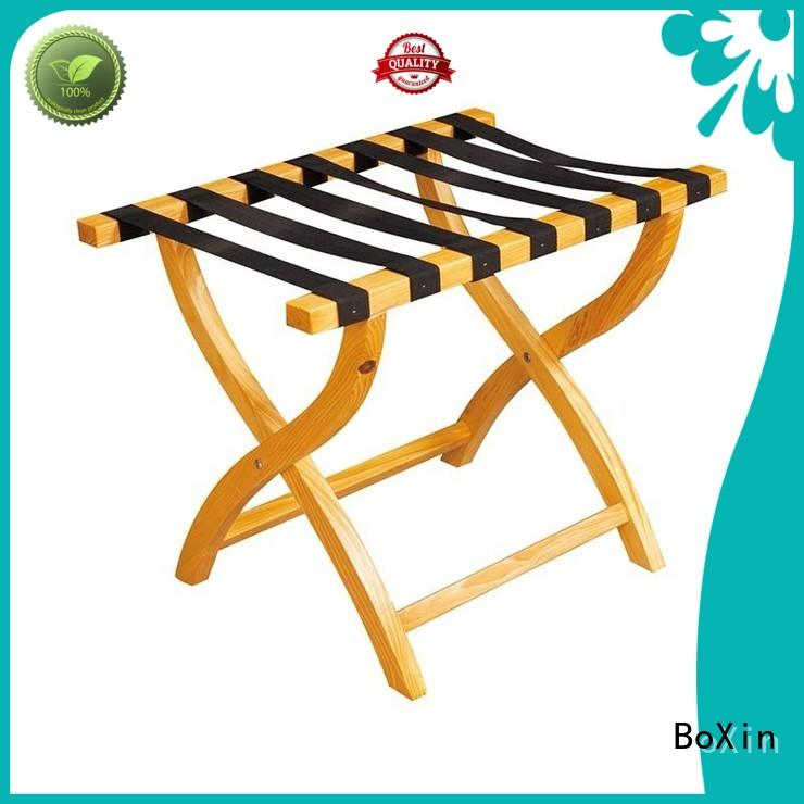 Breathable hotel luggage rack rack customization for hotel room