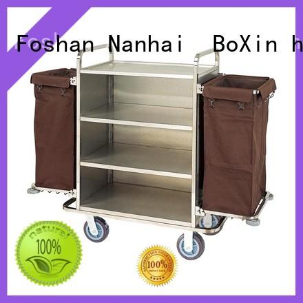 BoXin latest trolley cleaning service supply for towel cart
