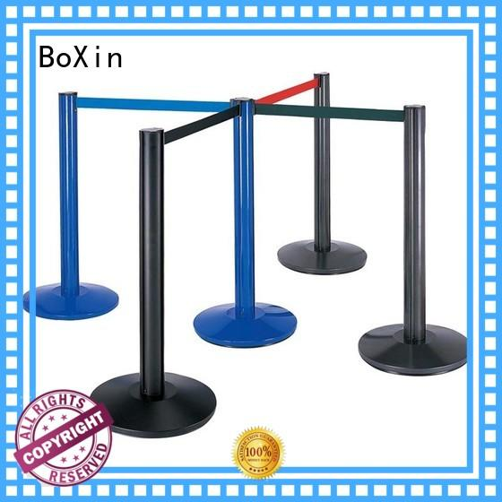 railing hotel OEM crowd control stands BoXin