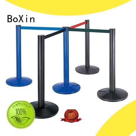 BoXin hotel velvet rope stands get quote for line stand