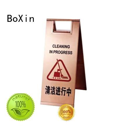 BoXin stainless steel signage stand suppliers for hotel