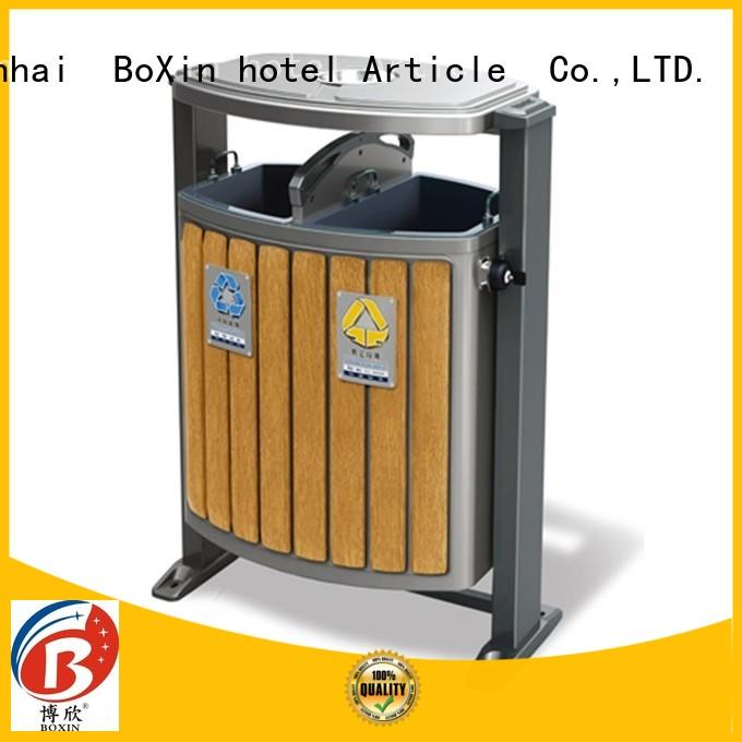 BoXin collection commercial outdoor garbage cans supplier Hotel lobby