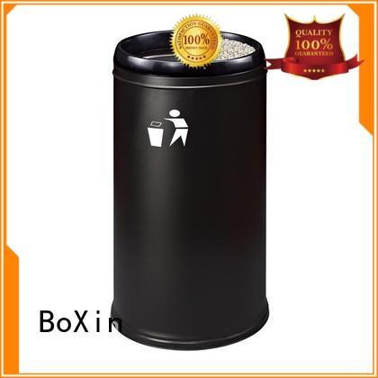 BoXin Brand round street custom commercial trash bin