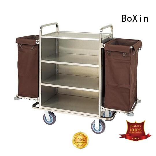 custom trolley cleaning service house keeping equipment for laundry service