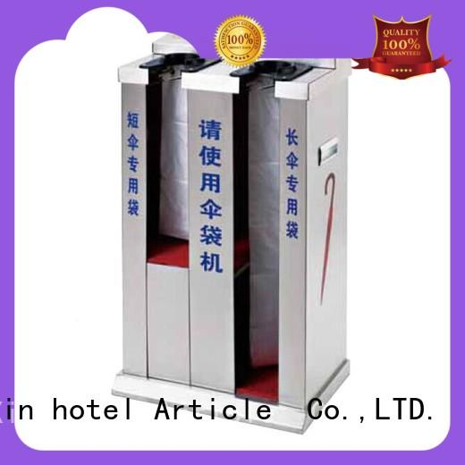 BoXin high-quality umbrella plastic bag dispenser factory for hotel supply