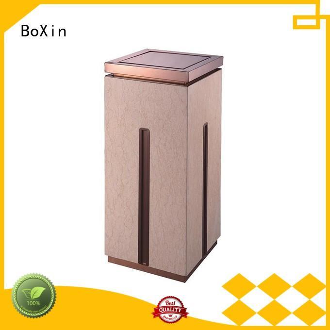 indoor garbage bins trash hotel trash can BoXin Brand